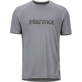 Marmot Windridge SS Shirt Men with Graphic Cinder